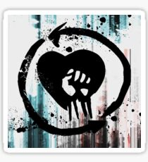 Rise Against Sign Sticker