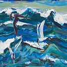Waves and Terns by SHANNON BUEKER