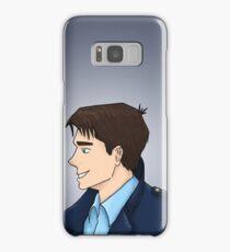 Captain Jack Harkness Profile Samsung Galaxy Case/Skin