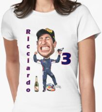 Support Daniel at the Races Women's Fitted T-Shirt