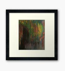Color Smear Framed Print