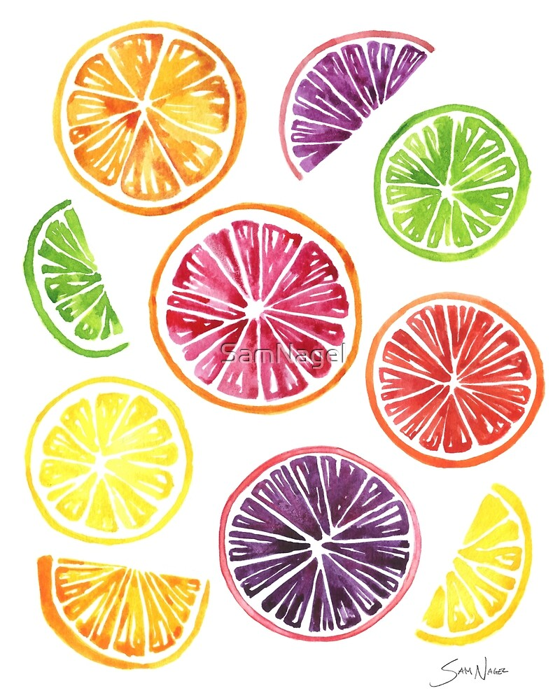 Citrus Wheels by SamNagel
