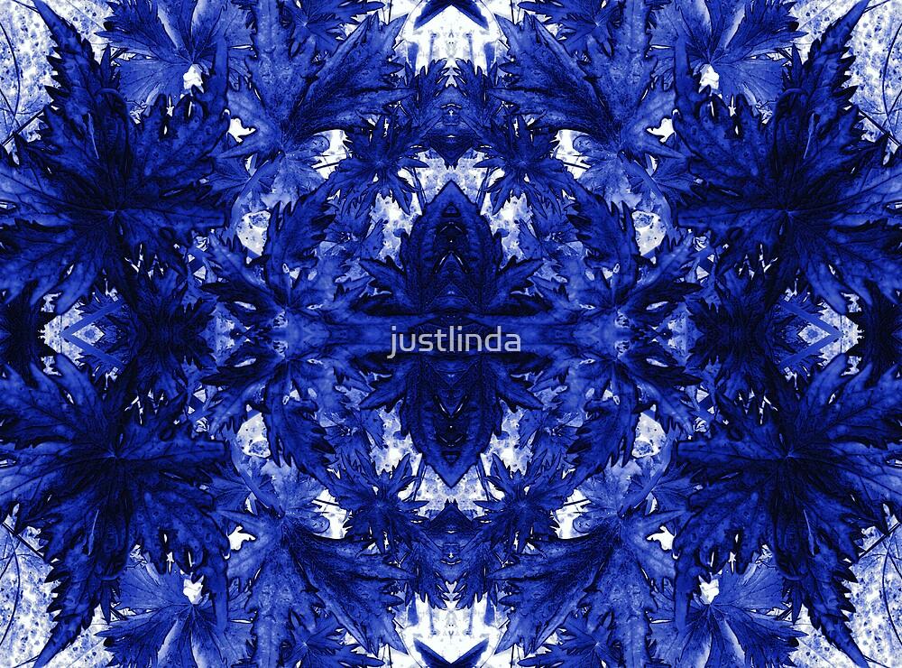 Blue Leaves by justlinda