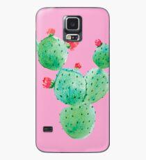 Funda/vinilo para Samsung Galaxy Cactus en rosa