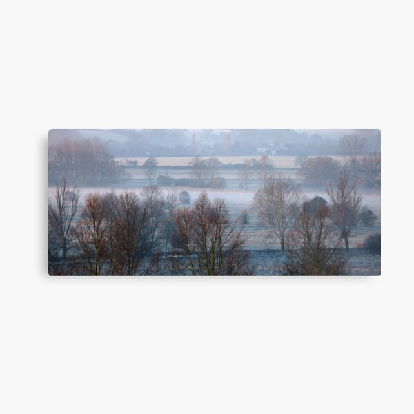 Valley Frost Metal Print