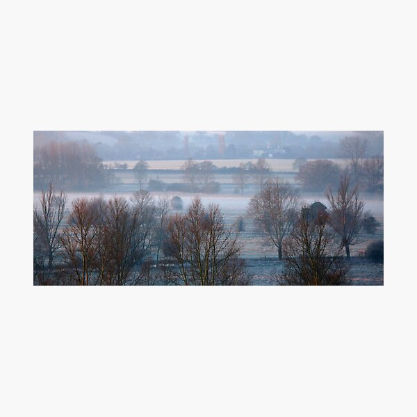Valley Frost Photographic Print