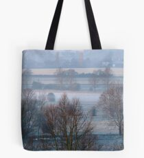 Valley Frost Tote Bag