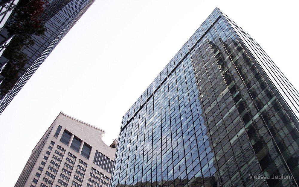 New York Buildings by Melissa Jeglum
