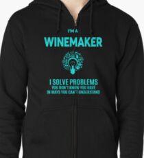 WINEMAKER BEST DESIGN 2017 Zipped Hoodie