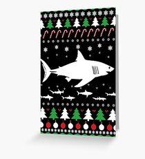 SHARK CHRISTMAS Greeting Card