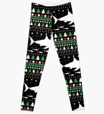 SHARK CHRISTMAS Leggings