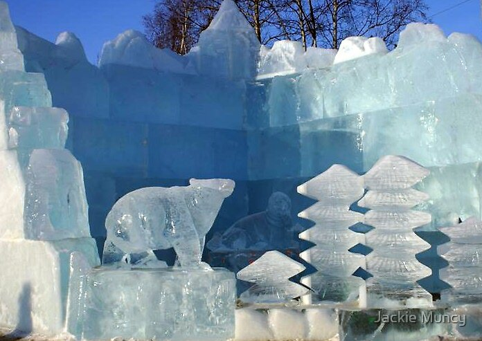 Entry to Ice Sculpture Festival by Jackie Muncy