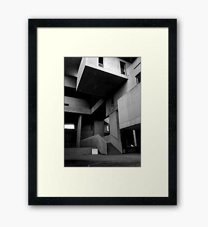 Unique Spaces Framed Print