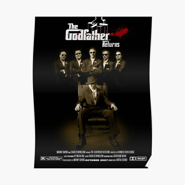 The Godfather Returns Poster