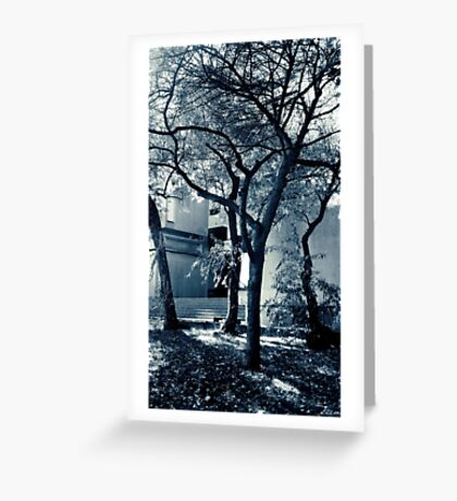 Ethereal Trees Greeting Card