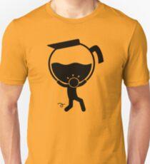 Say It With Stick Figure - Preparing Coffe I T-Shirt