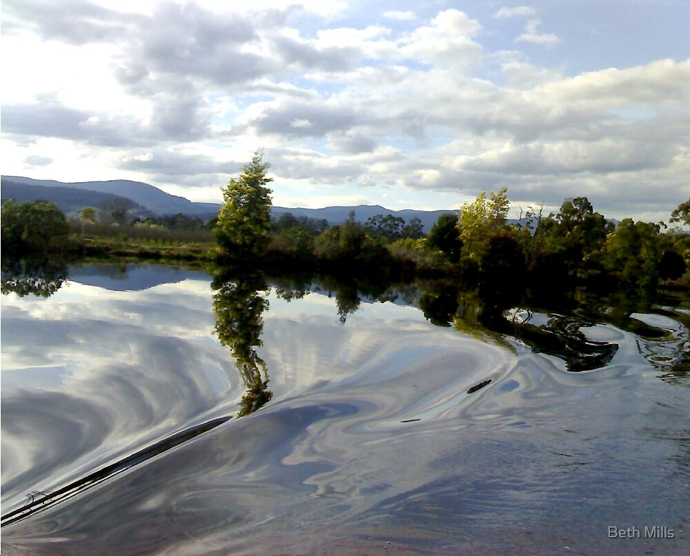 Huon River #3 by Beth Mills
