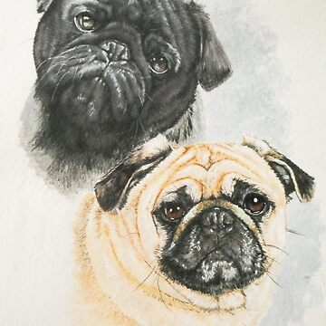Pug by BarbBarcikKeith