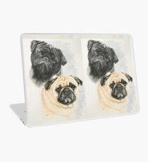 Pug Pair Laptop Skin