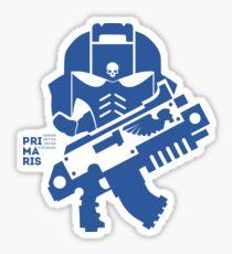 Warhammer 40k - Primaris Space Marine With Bolter Sticker