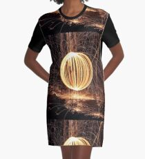 steel wool Graphic T-Shirt Dress