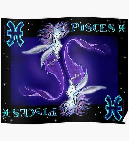 PISCES the 12th sign Poster