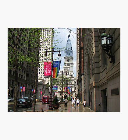 Philadelphia after rain Photographic Print