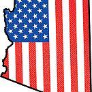 ARIZONA USA AMERICAN FLAG AMERICA VINTAGE GRAND CANYON PHOENIX TUCSON YUMA by MyHandmadeSigns