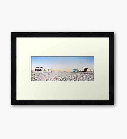 Not on my Watch Framed Print