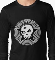 Hypno Skull Long Sleeve T-Shirt