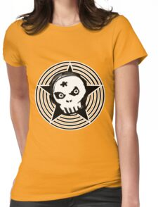 Hypno Skull Womens Fitted T-Shirt