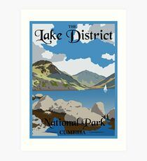 Lake District Art Print