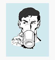 Superheroes Love Tea Photographic Print