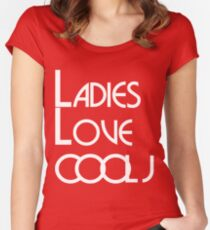 LADIES LOVE COOL J Women's Fitted Scoop T-Shirt
