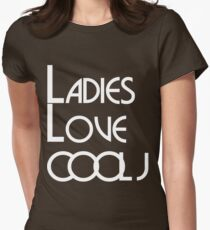 LADIES LOVE COOL J Womens Fitted T-Shirt