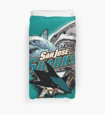San Jose Sharks Duvet Cover