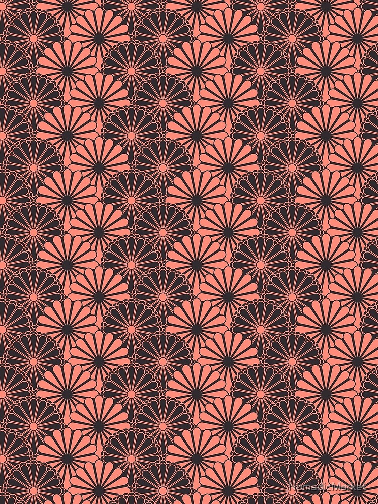 Japanese Floral Pattern 11 by NomadicMarket