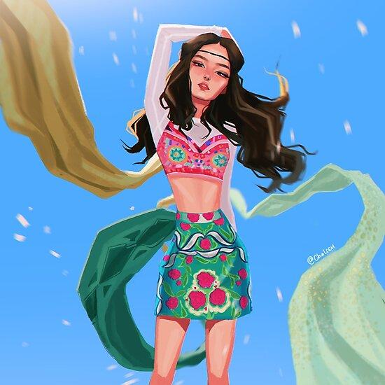 Summer Queen Jennie. by Chalseu