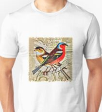 BRIGHT BIRDIES COLLAGE T-Shirt