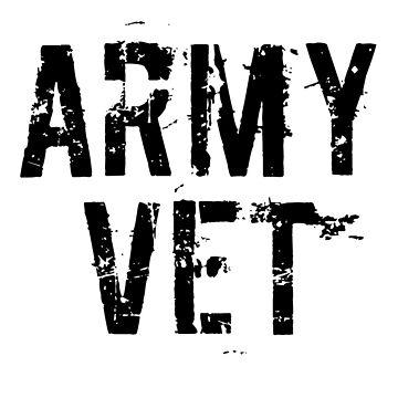 ARMY VET by MERCH365