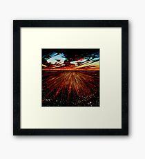 The Goodooga Brewarrina Road Framed Print