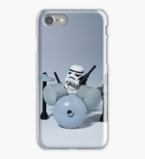 Drumming up a storm iPhone Case/Skin