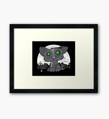 Felinity War Framed Print