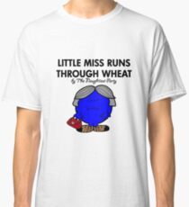 LITTLE MISS RUNS THROUGH WHEAT - THERESA MAY - CONSERVATIVE PARTY Classic T-Shirt