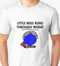 LITTLE MISS RUNS THROUGH WHEAT - THERESA MAY - CONSERVATIVE PARTY T-Shirt