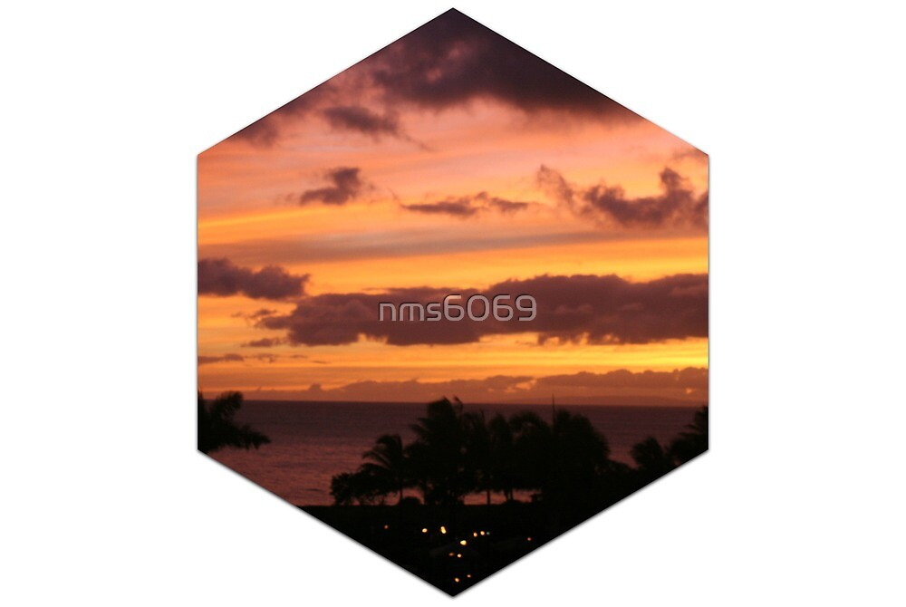 Sunset in Maui by nms6069