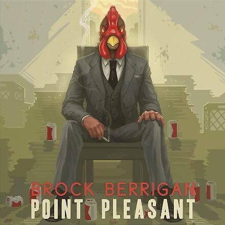 Brock Berrigan – Point Pleasant - Vinyl LP artwork - Triphop jazzy hiphop from the Netherlands by deadadds