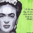 Frida Kahlo by anniemgo