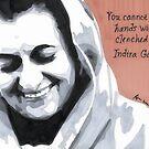 Indira Gandhi by anniemgo