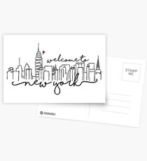 Welcome to New York Postcards